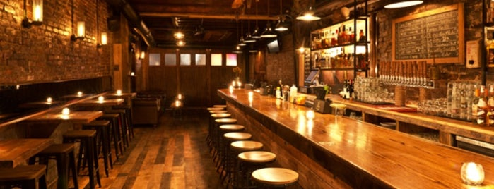 East village bars
