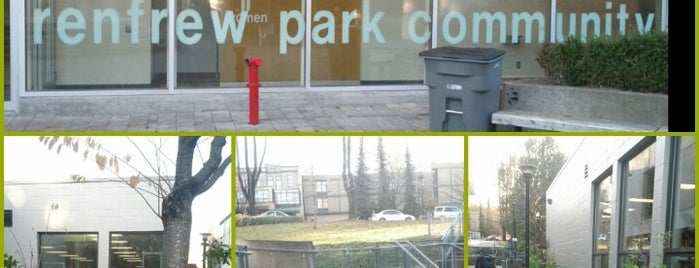 Renfrew Park Community Centre is one of Angel : понравившиеся места.