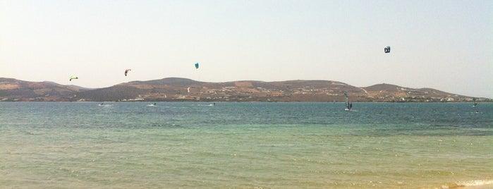 Paros Kite Pro Center is one of สถานที่ที่ David ถูกใจ.