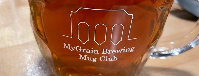 MyGrain Brewing Co. is one of ICBG Passport 2019.