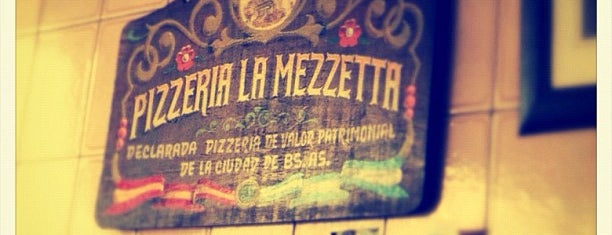 La Mezzetta is one of Debilidades.