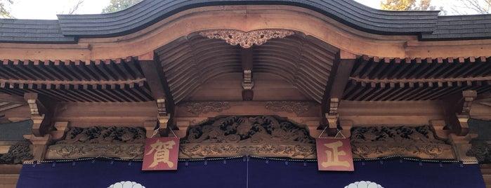 穂高霊社 is one of Locais curtidos por ジャック.