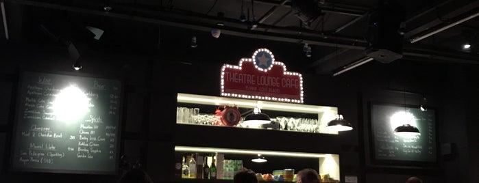 Theatre Lounge Cafe is one of Giana'nın Kaydettiği Mekanlar.