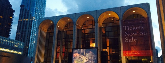 Metropolitan Opera is one of The New Yorkers: Extracurriculars.