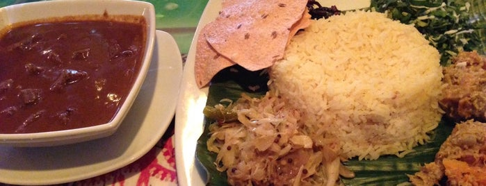 Banana Leaf is one of Halal Spots in NYC.