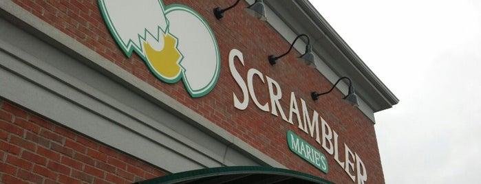 Scrambler Marie's is one of Cbus.