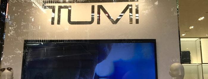 The Tumi Store is one of Week NYC.