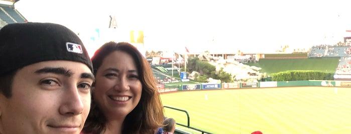 Angel Stadium of Anaheim is one of Orte, die Maria gefallen.
