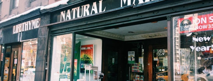Lifethyme Natural Market is one of NY Green.