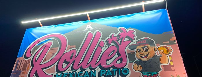 Rollie's Mexican Patio is one of Tau 님이 저장한 장소.