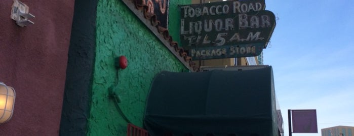 Tobacco Road is one of Great picks.