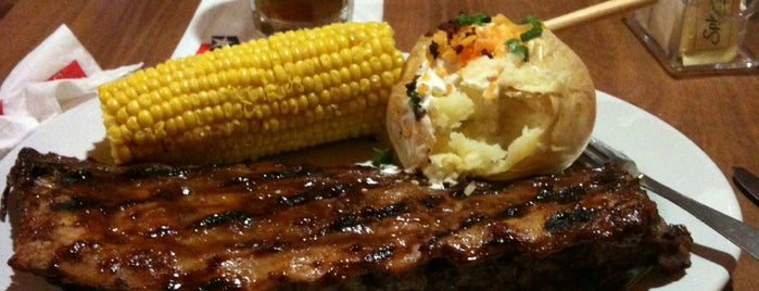 Texas Ribs® is one of Restaurantes.