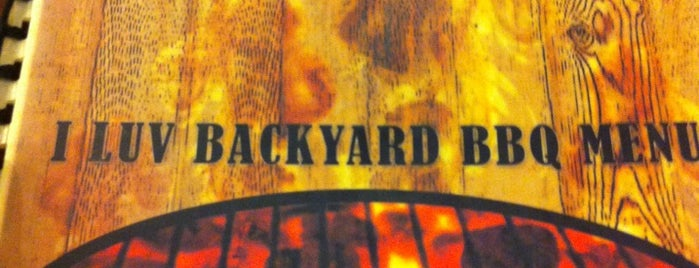 I Love Backyard BBQ is one of BORACAY.