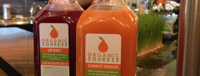 Organic Squeeze is one of Favorite OKC Spots.