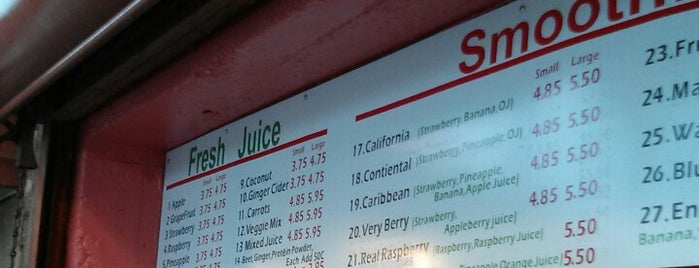 The Juice Emporium is one of Juice Bars & Tea Houses.