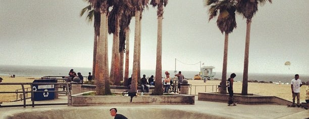 Venice Beach Skate Park is one of LA.