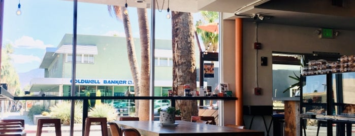 Ernest Coffee Co. is one of Palm Springs ✌️.