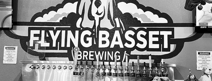 Flying Basset Brewing is one of Lugares guardados de Yvette.