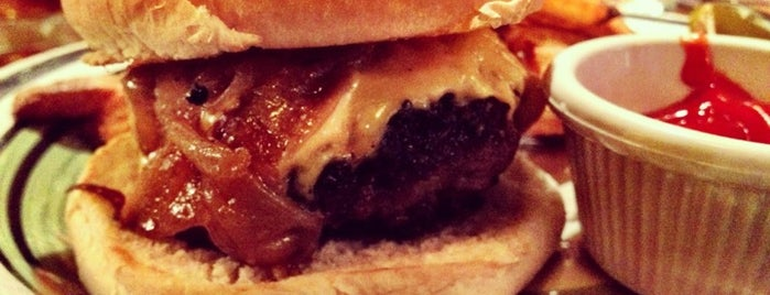 The Brindle Room is one of The Best Burgers In New York.
