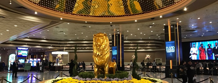 MGM Grand Tower is one of Tempat yang Disukai David.