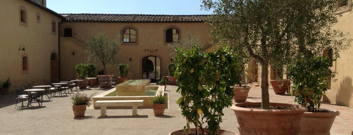 Castello di Casole is one of Italy | Good Eating & Living.