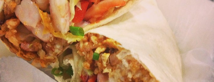 MOGO Korean Fusion Tacos is one of Jersey food.