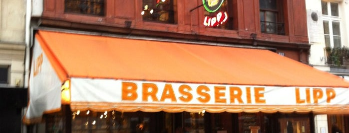 Brasserie Lipp is one of Favorite Food.