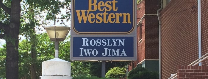 Best Western Hotel Rosslyn Iwo Jima is one of Krzysztof 님이 좋아한 장소.