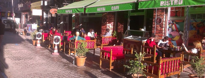 yeni Hayal Cafe bistro is one of Locais salvos de cevat.