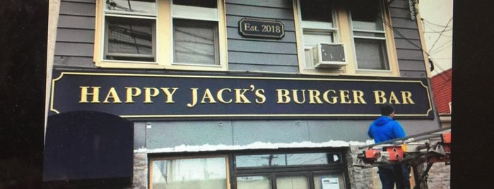 Happy Jack's Burger Bar is one of Burgers.