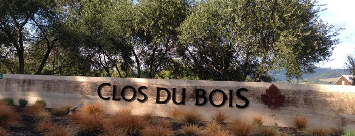 Clos du Bois is one of healdsburg wine.