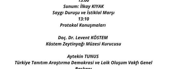 Köstem Zeytinyağı Müzesi is one of Posti che sono piaciuti a Banu.