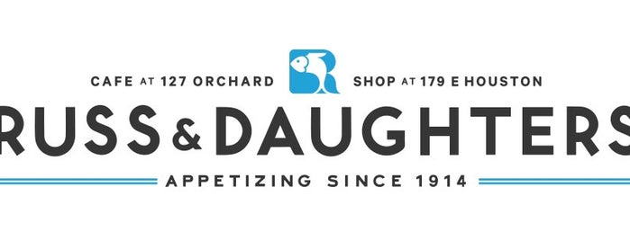 Russ & Daughters Café is one of NYC.