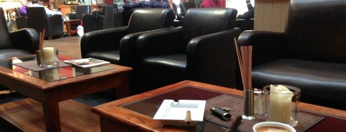 CIGARWORLD Lounge is one of Ecnebi.