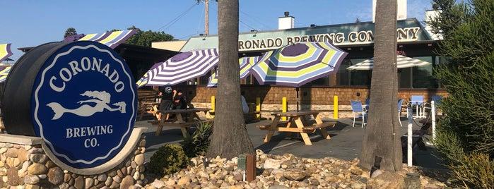 Coronado Brewing Company is one of สถานที่ที่บันทึกไว้ของ Butch.