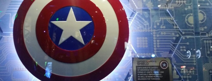 The Marvel Experience is one of Dallas.