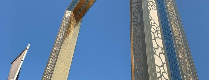 Dubai Frame is one of #myhints4Dubai.