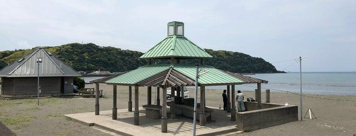 多々良北浜海岸キャンプ場 is one of 行きたいキャンプ場.