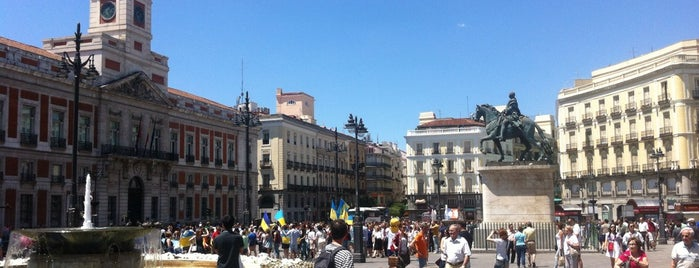 Puerta del Sol is one of Best of Madrid.