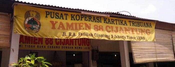 Yamien 88 Cijantung is one of สถานที่ที่บันทึกไว้ของ Pinky.