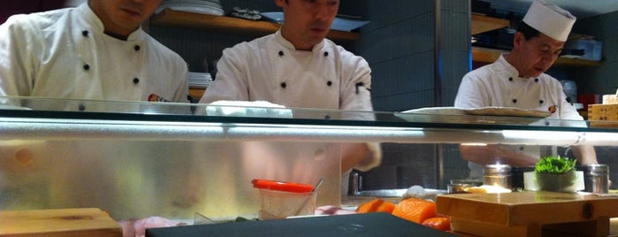 Nobu is one of London - Food.