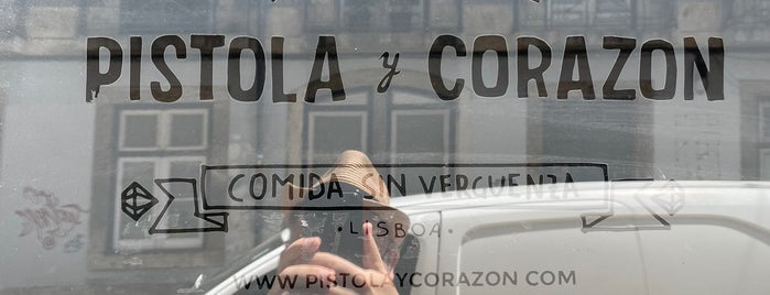Taqueria Pistola y Corazon is one of adore.lisboa.