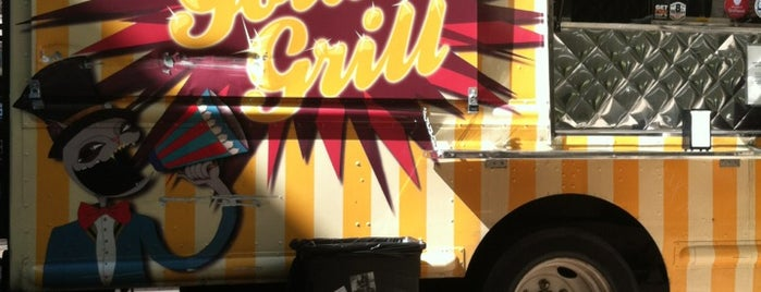 The Golden Grill is one of Food Trucks.