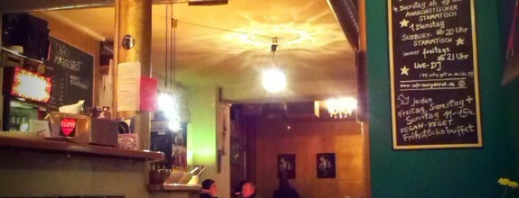 Café Morgenrot is one of Berlin's Best Vegetarian - 2013.