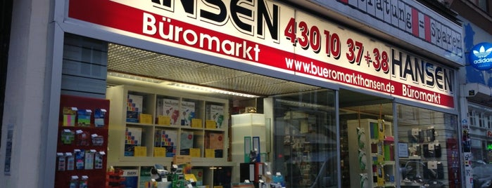Büromarkt Hansen is one of Alles in Hamburg.