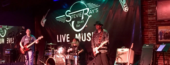 Stevie Ray's Blues Bar is one of Louisville.