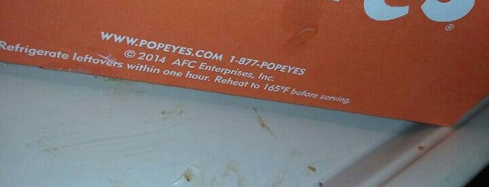 Popeyes Louisiana Kitchen is one of Tempat yang Disukai Emilio.