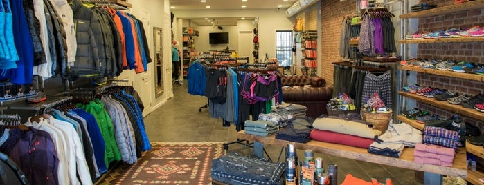 Brooklyn Outdoor Provisions is one of Brownstone Living NYC's Saved Places.