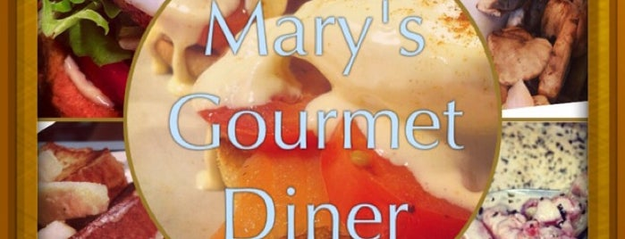 Mary's Gourmet Diner is one of Winston Salem.