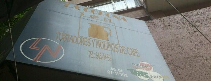 Cafetería La Corona is one of Posti salvati di CirculoVivo.